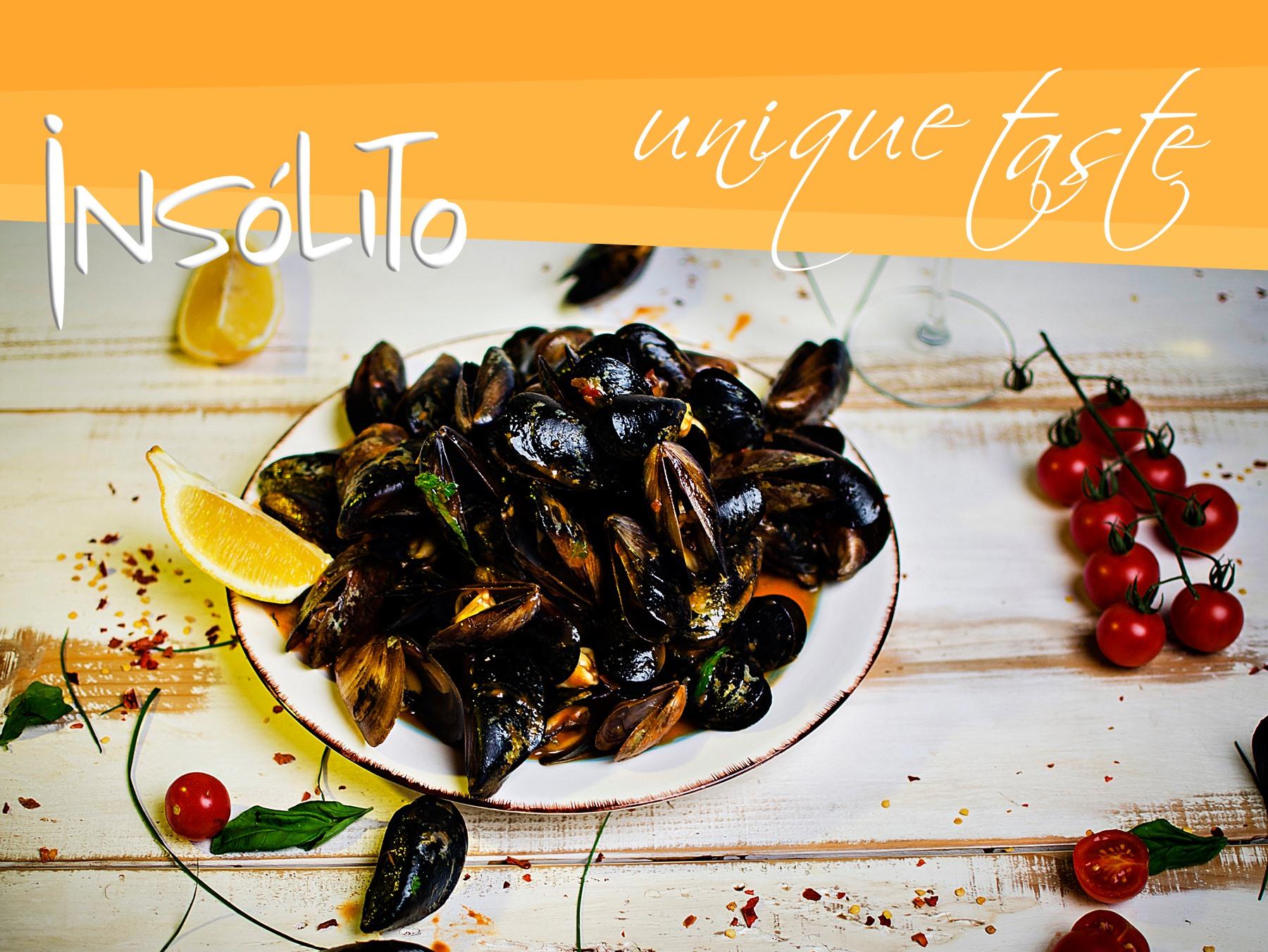 Графична обработка на банери за ресторант Insolito Приморско