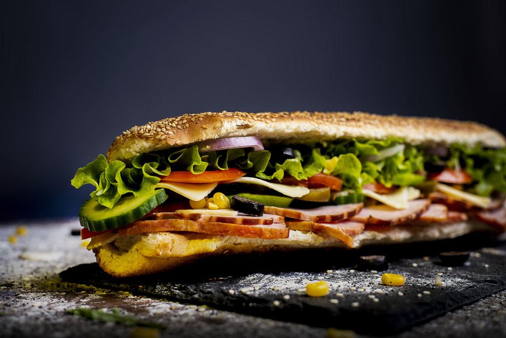 Кулинарна фотография на сандвичи.