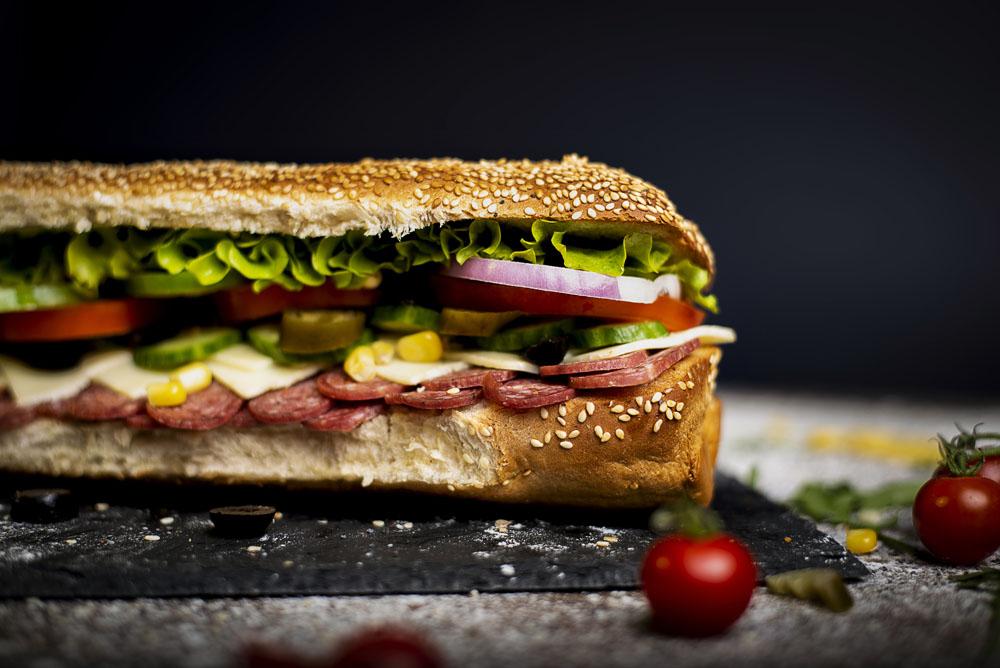 Фотография на сандвичи.