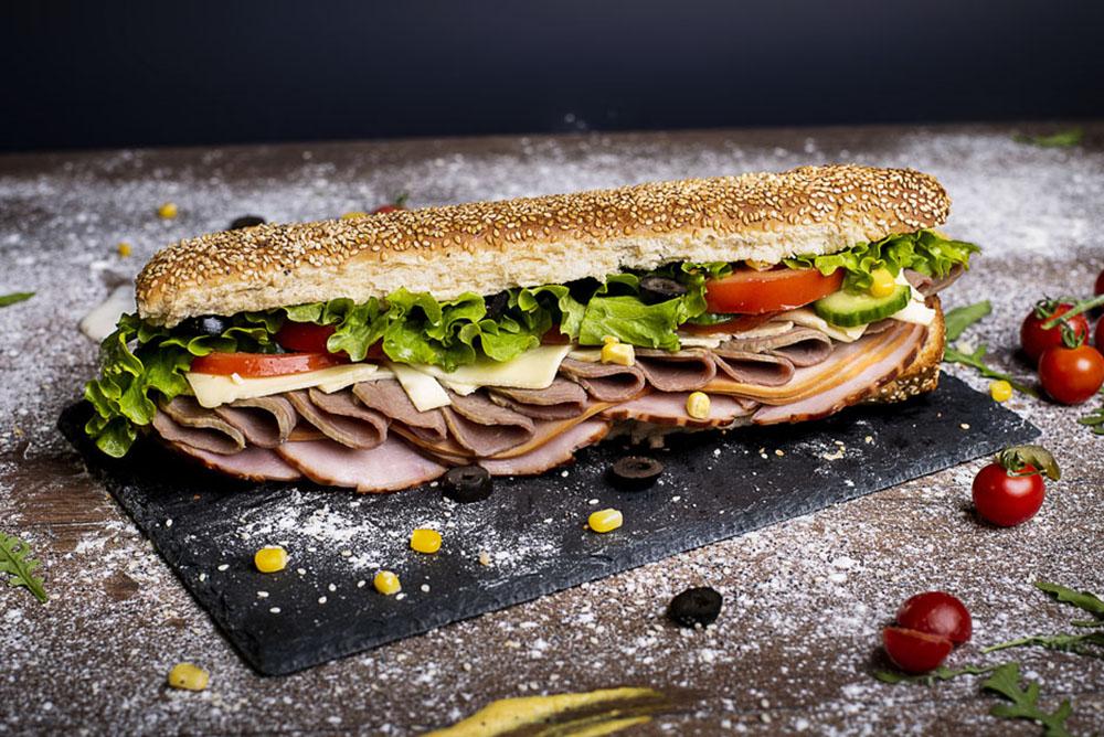 Професионална фотография на сандвичи.