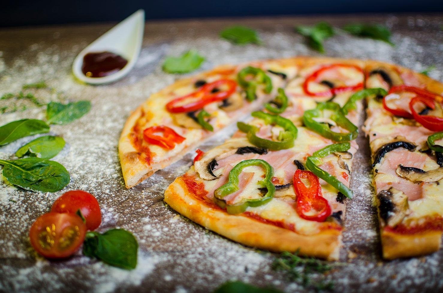 Кулинарна фотография пицария корона Бургас.